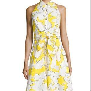 DVF Eden Garden Tener Floral Sleeveless Dress